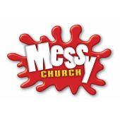 Messy logo square